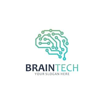 Brain tech, inspiración para el diseño de logotipos