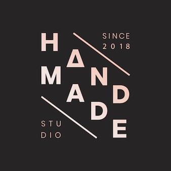 Branding para manualidades.
