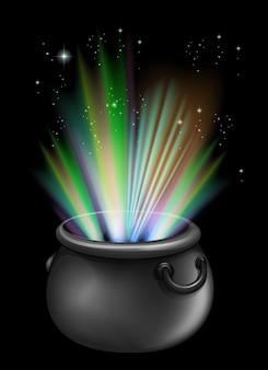 Brebaje mágico en la olla