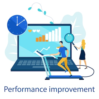 Bright poster es escrito mejora del rendimiento.
