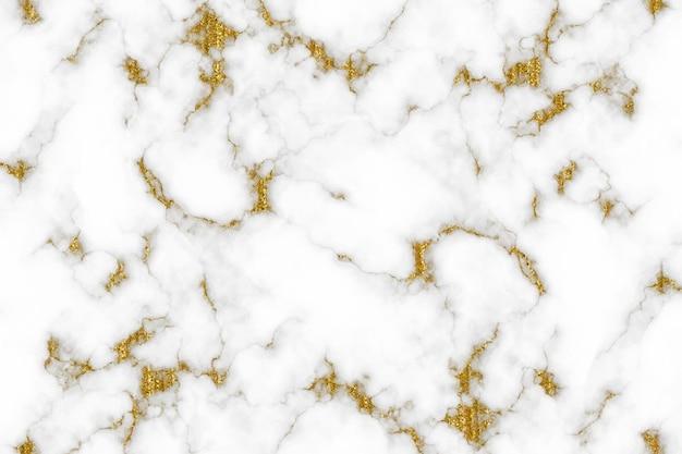 Brillo dorado con fondos de mármol de lujo