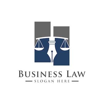 Bufete de abogados, servicios de abogado, logotipo de lujo de la cresta de la vendimia