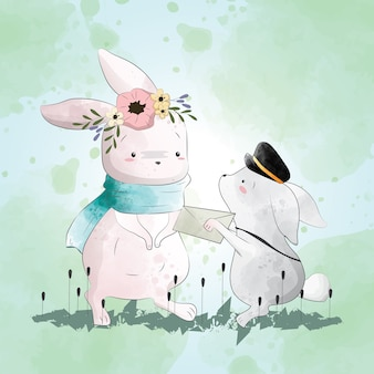 Bunny recibe una carta