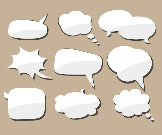 Burbuja de diálogo.