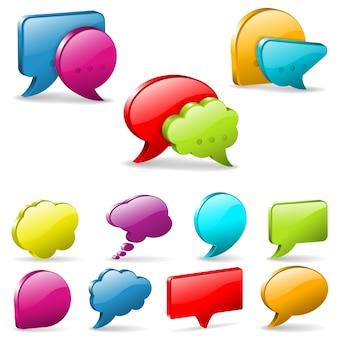 Burbujas de discurso y pensamiento