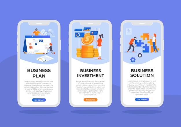 Business-mobile-ui-design-template