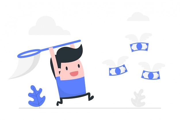 La búsqueda del dinero.