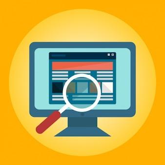 Búsqueda web vector gratuito
