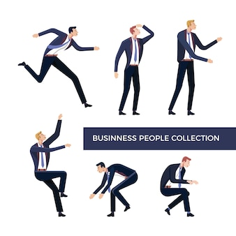 Bussines people collection
