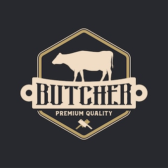 Buther logo vintage