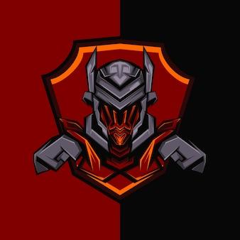 Caballero de hierro oscuro