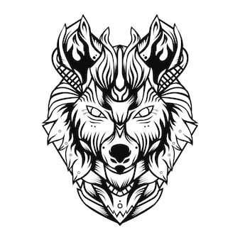 Caballero lobo