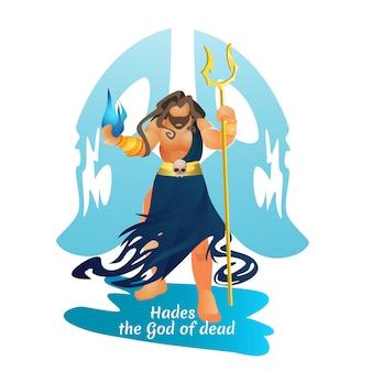 Caballero oscuro hades la mitología griega dios del inframundo