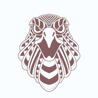 Cabeza de águila