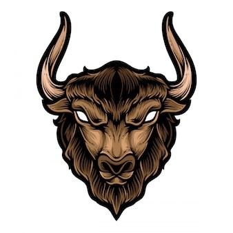 Cabeza de búfalo