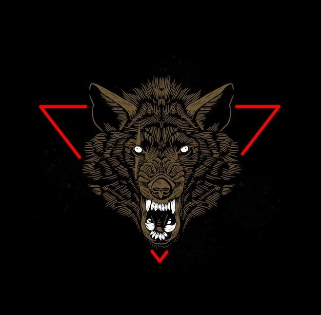 Cabeza de lobo