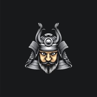 Cabeza de samurai