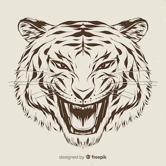 Cabeza de tigre