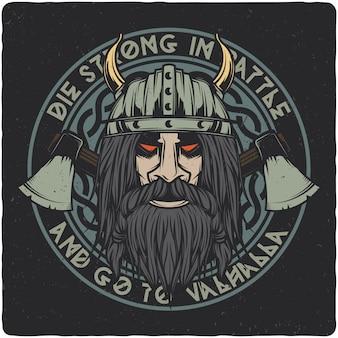 Cabeza vikinga