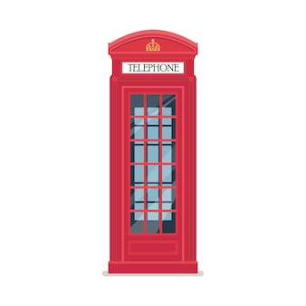 Cabina telefonica roja londres