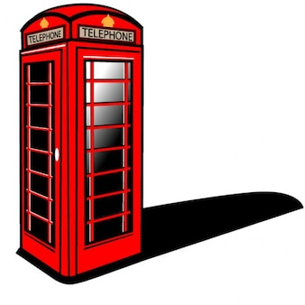 Cabina de teléfono rojo de londres