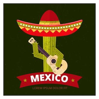 Cactus en sombrero