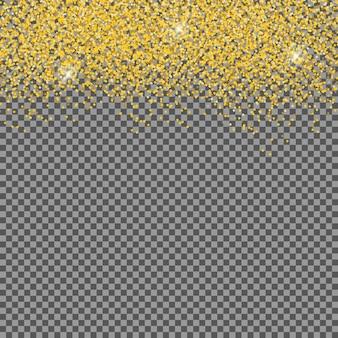 Caen brillantes copos de nieve y nieve sobre fondo transparente. fondo de navidad, invierno y año nuevo. ilustración vectorial realista para su diseño