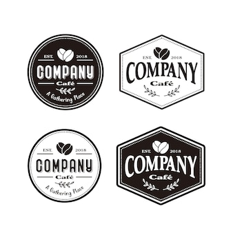 Café cafe logotipo