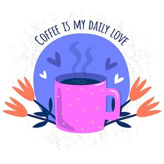 El café es mi amor diario