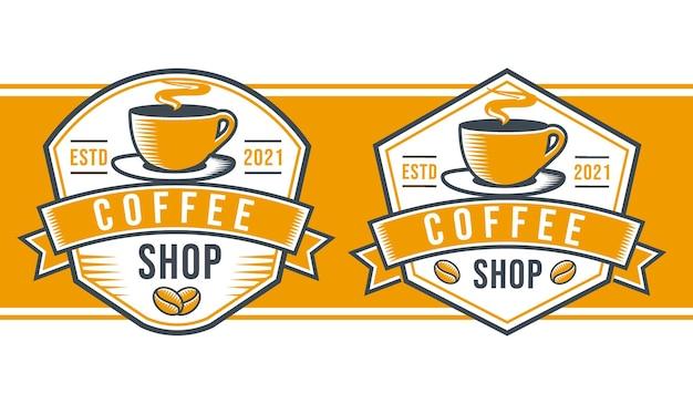 Cafeteria logo moderno clasico