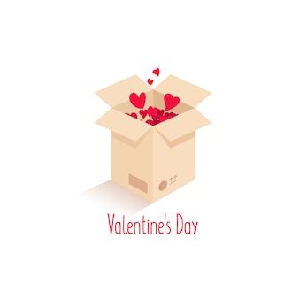 Caja con amor