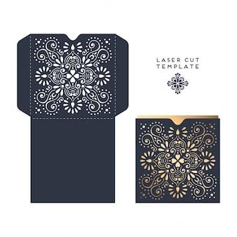 Caja decorada con mandalas