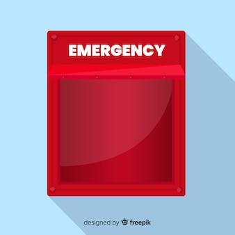Caja de emergencia vacía