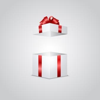 Caja de regalo con efecto de luz