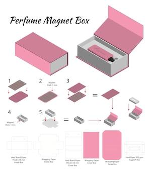 Caja rígida para maqueta de perfume