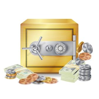 Caja de seguridad de acero