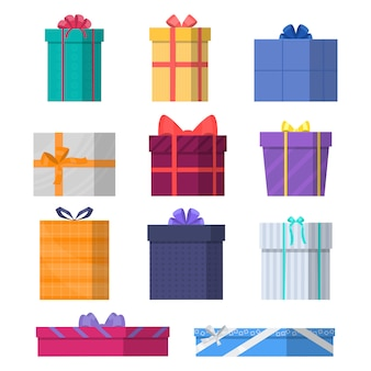 Cajas de regalo.