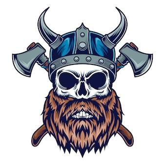 Calavera vikinga