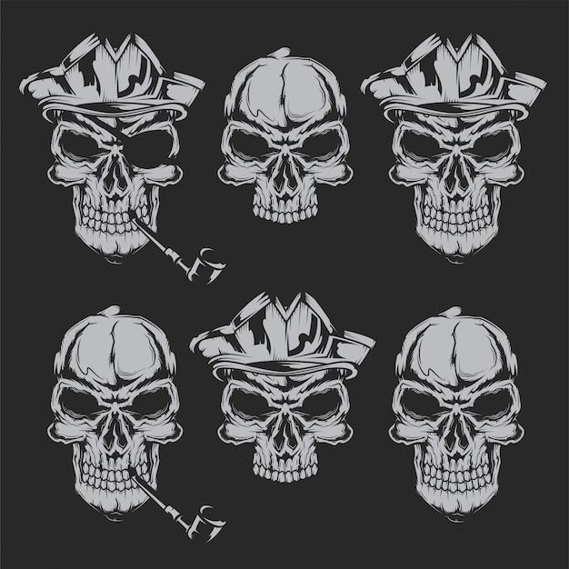 Calaveras piratas