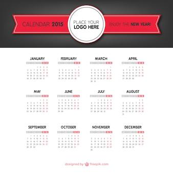 Calendario 2015 clásico