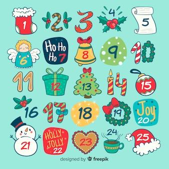 Calendario adviento divertido
