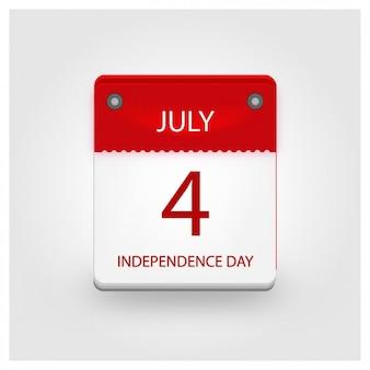 Calendario del día de la independencia