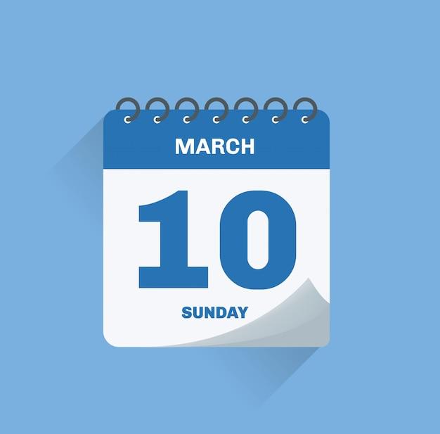 Calendario del día