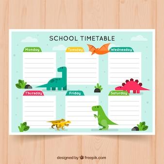 Calendario escolar para organizar actividades