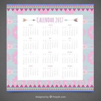 Calendario étnico de 2017