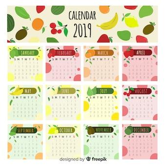 Calendario frutas y verduras estacionales
