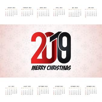 Calendario de navidad 2019