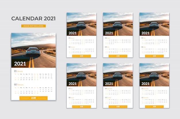 Calendario de pared, planificador de fechas