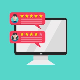 Calificación en servicio al cliente