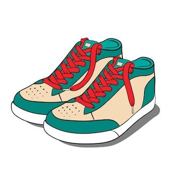 Calzado deportivo, zapatillas de deporte.